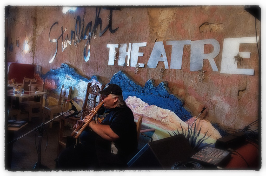 mark barefoot at the starlight, terlingua