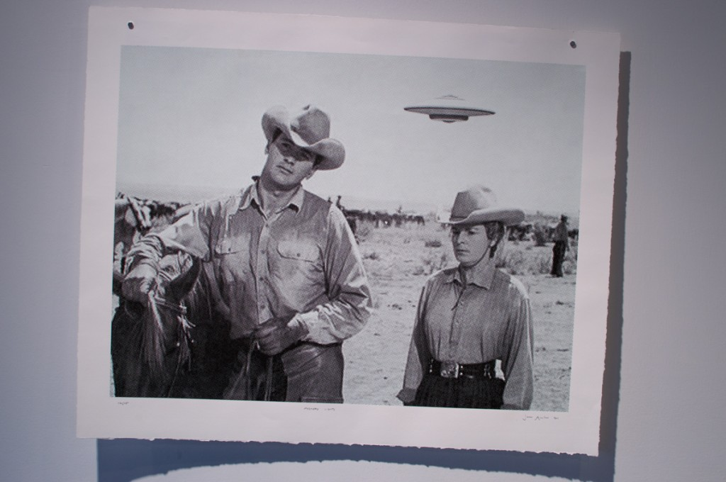 cowboy flying saucer