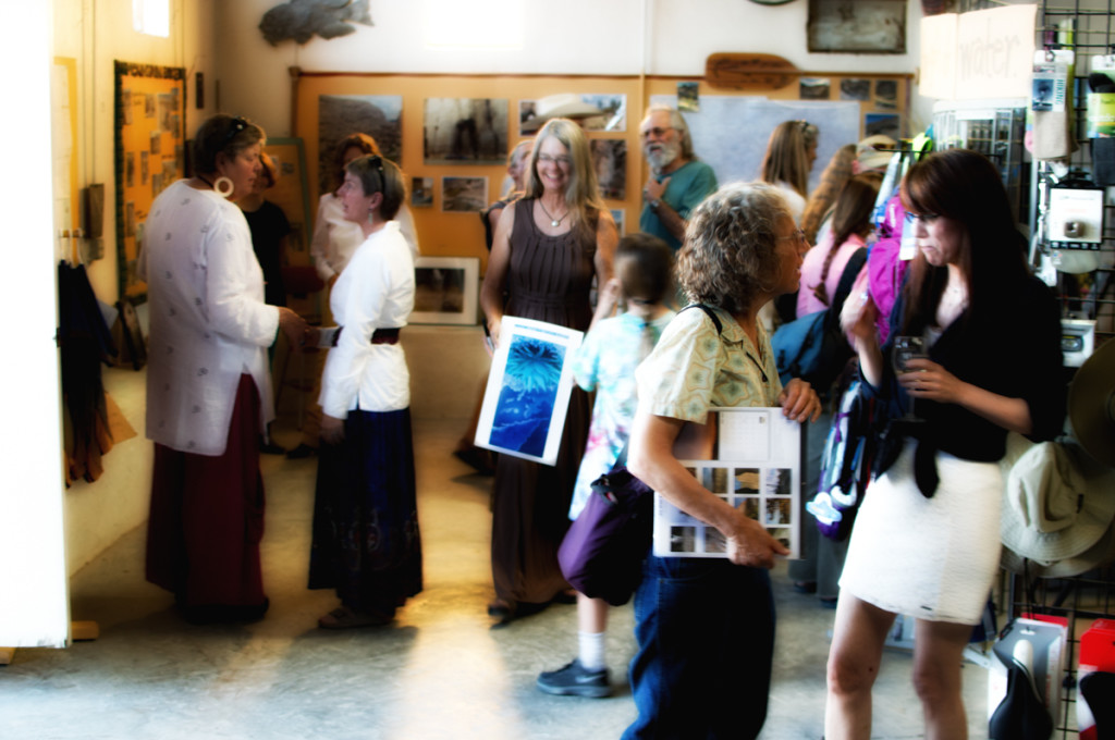 Crystal Allbright photography opening