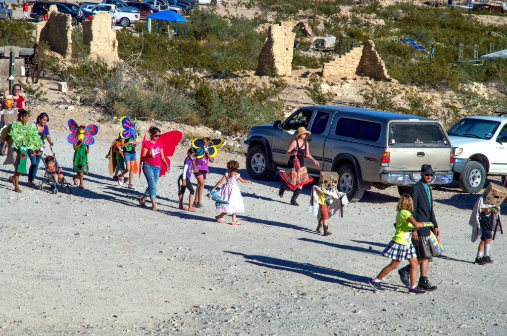 Green Scene Parade, Terlingua 2014