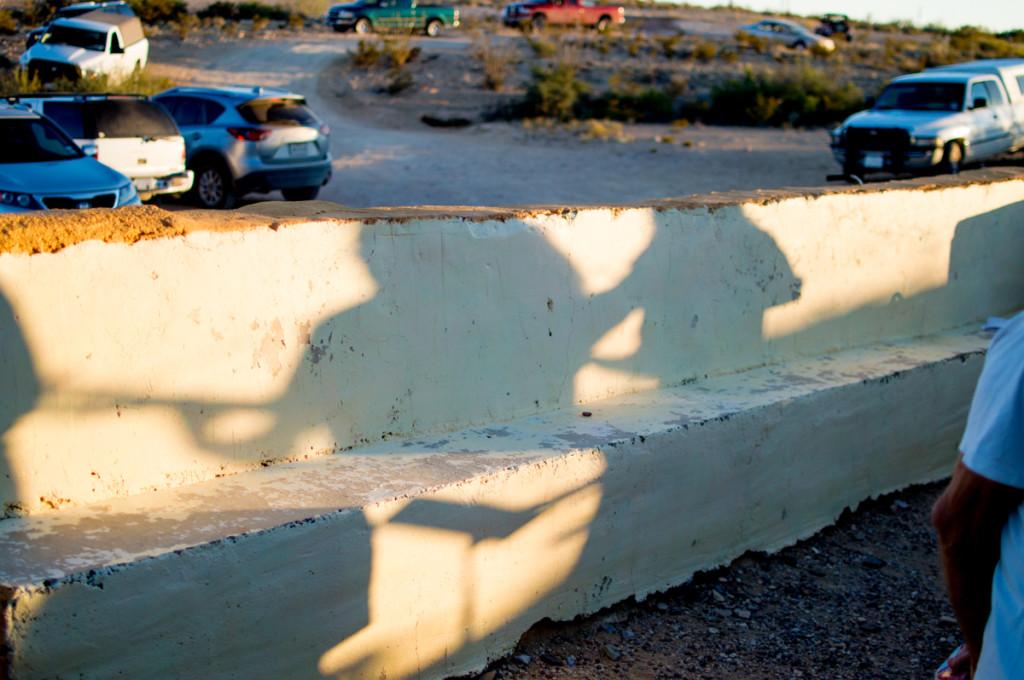 Band shadows
