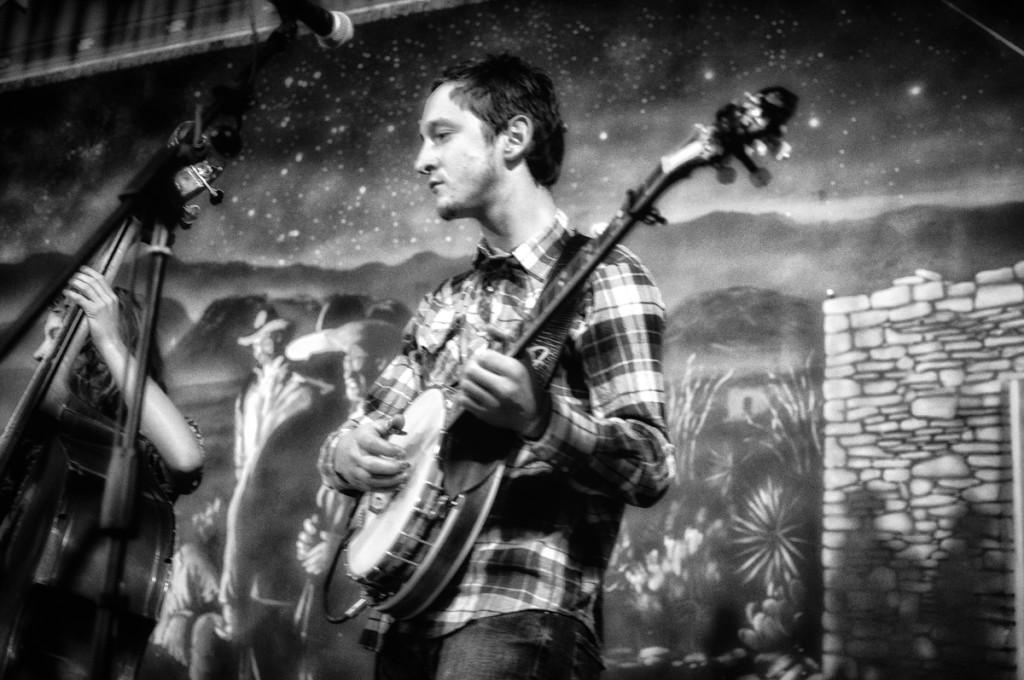 B.A.N.J.O.  Banjo.