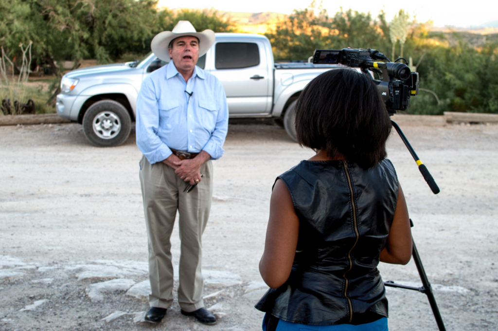 Brewster County DA, Rod Ponton, explains for the camera how he managed to not get a conviction.