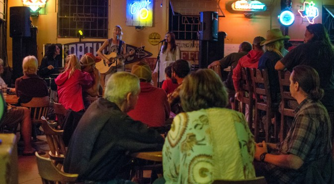 Paper Moon Shiners and Daisy O'Connor in Terlingua