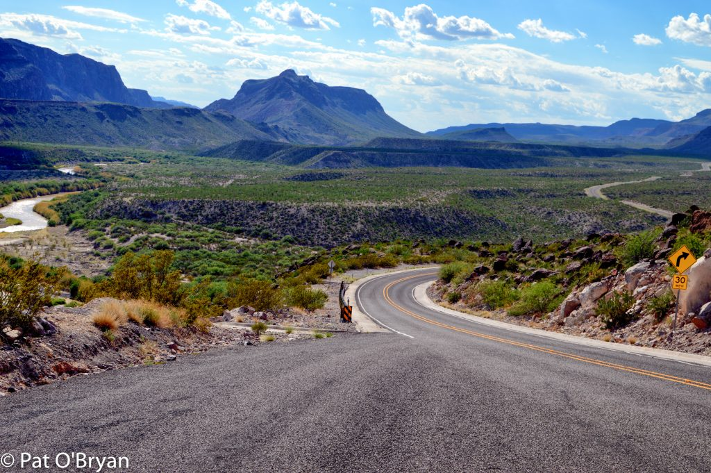 Hwy 170 - River Road - between Terlingua and Presidio