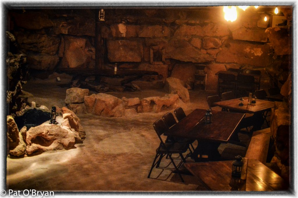 The cave room.